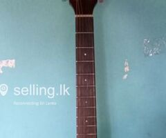 Fender accoustc guitar