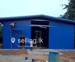 All kind of  Roofing Constructions Steel Building Construction