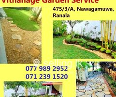 Landscaping in Kaduwela - Vithanage Garden Service