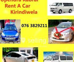 Cab Service in Kirindiwela -  Upendra Kabral Rent a Car