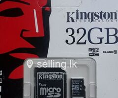 Kingston 32GB Memory Cards