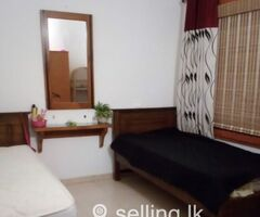 Room for sharing or single lady Narahenpita