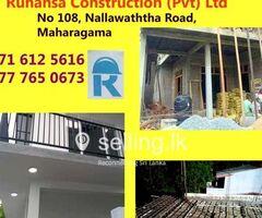 Ruhansa Construction (Pvt) Ltd - Concrete Slab Construction.