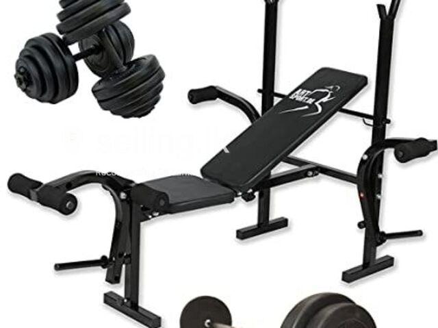 Fitness Gym bench Full set