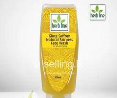 Herbline saffron fairnes Facewash