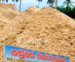 Sand Supplier in Colombo - Panduwas Enterprise