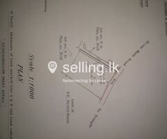 Land For Sale Mirigama Close to Expressway Entrancem