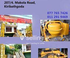 Construction Equipment Supplier in Kiribathgoda - Senaka Enterprises