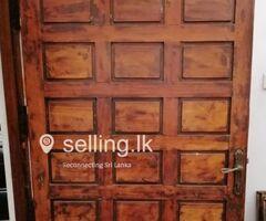 Wooden Main door for sale