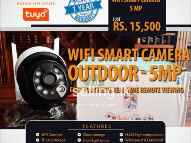 Wi-Fi smart camera - 5MP - Outdoor - 360 Rotatable