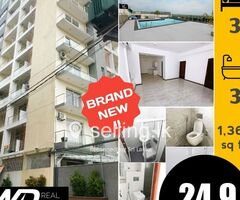 BRAND NEW 3BR APARTMENT MAHARAGAMA FOR SALE