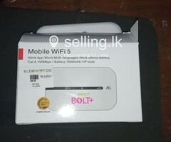 3G/4G Portable WIFI Router