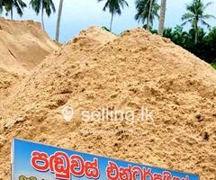 Sand Supplier in Thimbirigasyaya - Panduvas Enterprises.