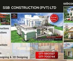 Apartment & Housing Construction - S S B Construction (Pvt) Ltd.