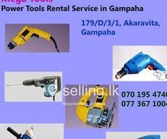 Power Tools Rental in Gampaha - Mega Tools