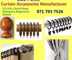 Curtain Accessories Supplier in Gampaha - SBS Poles.