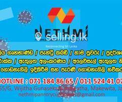 Interior Designer in Gampaha - Nethmi Interior Design.