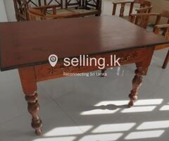 ANTIQUE TABLE FROM GALLE FORT 150 YEARS