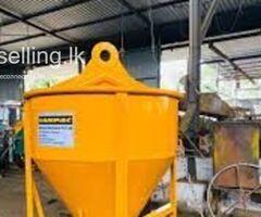 Tower Crane Bucket Manufacturer - Sanpac Engineers (Pvt) Ltd.