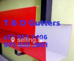 Amano Gutters Fixing Panadura - T & D Gutters.