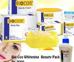BIO COS whitening beauty  pack