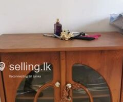TV stand - Wooden sofa