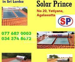 Solar Hot Water Syatems Kalutara - Solar  Prince.