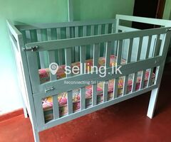 Baby Cot with Mettress