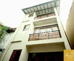 Brand new High Luxury Apartments and Luxury Three storied building for rent
