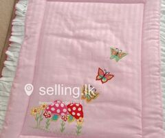Egyptian cotton baby cot sheet