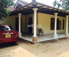 Fully completed house in horana
