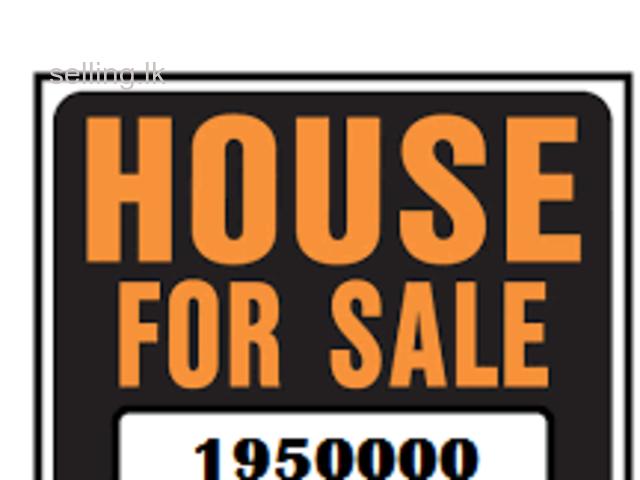 House For Sale Gampaha Wathurugama