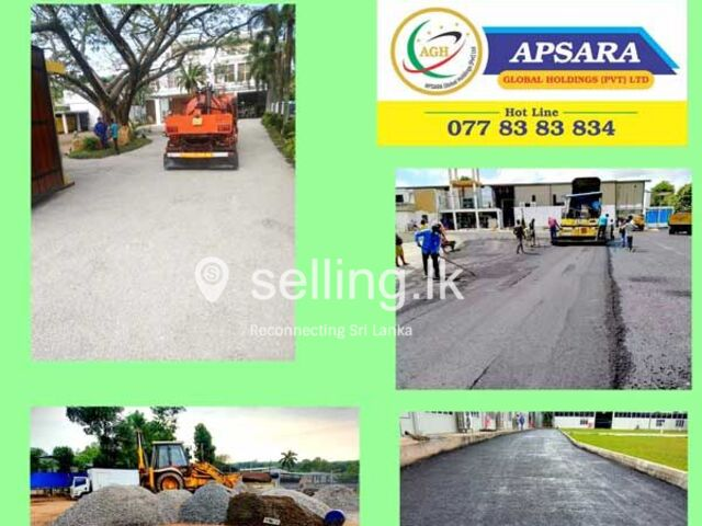 Private Road Construction - Apsara Global Holidings.