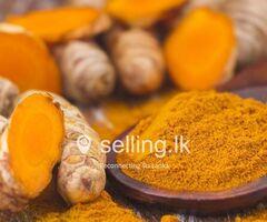 Turmeric powder (කහකුඩු)
