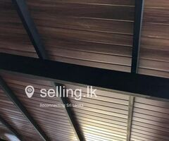 Polycarbonate covers for voids skylights court yards steel roofing pantry cupboards aluminum