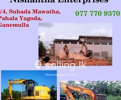 Demolition Contractor in Sri Lanka- Nishantha Enterprises