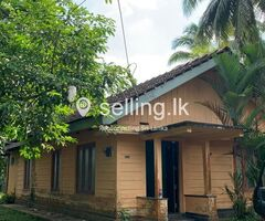 Land for sale with house Hanwella