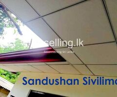 Sandushan Sivilima - Anuradhapura Ceiling Installation.