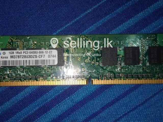 Ram card Ddr2 1gb