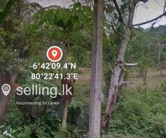 Valuable land for sale in rathnapura