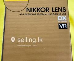 Nikon 18-200 f/3.5-5.6 G VR II
