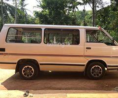 Toyota Hiace (Shell) LH51 - 1988