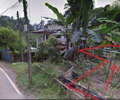 Kandy Kiribathkumbura Land for sale