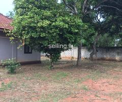 Residential land with a house for sale in Ja-Ela