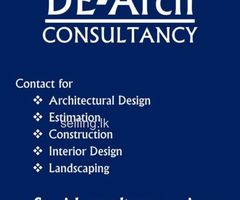 House planning and estimating - DE-Arch Consultancy