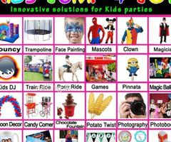 KIDS PARTY PLANING / PARTY EQUIPMENT HIRE / BOUNCY CASTLE / FACE PAINTING