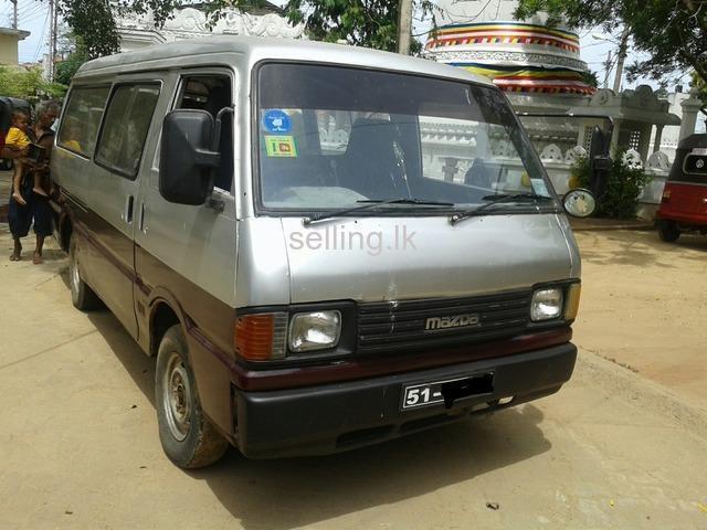 Mazda Bongo Browny - 1986