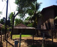 Land with a small house for immediate sale in Matara Town