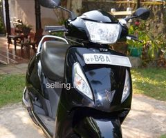 TVS Jupiter 2014 BBA-xxx (110CC Black color)