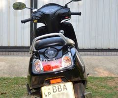 TVS Jupiter 2014 BBA-xxx (110CC Black color)